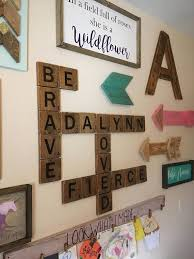 Carved scrabble 5.5 & 4.5 tiles wall art, scrabble wall art, words with friends scrabble letters, wall family decor games, scrabble decor signsofzest 5 out of 5 stars (784) Custom Kids Name Crossword Kids Room Name Wall Decor Personalized Crossword Nursery Name Wall Art Wood W Kids Room Inspiration Toy Rooms Wall Decor Bedroom