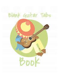 Amazon Com Blank Guitar Tabs Book Standard Tuning Chord
