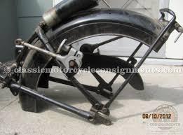 1952 vincent rapide motorcycle parts bike for sale