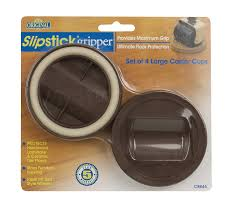 Slipstick CB845 3-1/4 Inch Bed Roller / Furniture Wheel Gripper Caster Cups  (Set of 4) Chocolate Brown Color - Furniture Cups - Amazon.com