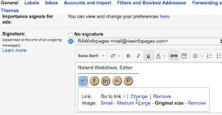 Create An Impressive Signature For Emails Sent In Gmail