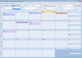 Monthly Calendar Schedule Select The Agenda Calendar View In Planningpme
