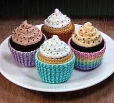 Crochet Cupcake Pattern Beauteous Crochet Cupcakes Free Pattern Google Search Crochet Goodies