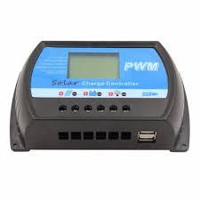<b>PWM</b> 10A 20A <b>30A 40A Solar</b> Charge Controller 12V 24V Auto LCD ...