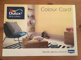 Wickes Paint Chart Dulux Paint Colour Card Chart By Wickes 1 50 Picclick Uk