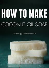How To Make Coconut Oil Soap