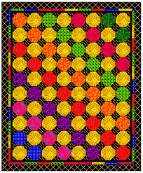 Free Quilt Block : Snowball - ideas for using this free quilt block & Download the EQ4 Project File for these snowball quilts Adamdwight.com