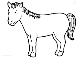 Horse Coloring Sheet Horse Coloring Pages Animals Horses Horse