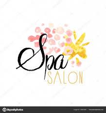 Spa Salon Logo Design Spa Salon Or Center Original Delicate Logo Design With