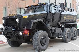 An MRAP Is Not a Blanket | American Civil Liberties Union