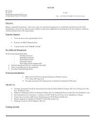 Good Mba Business Management Or Sales Candidate Resume Best 2018