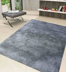 brown polyester 84 x 60 inch solid area rug by azaani