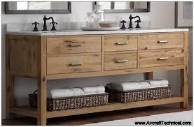 bathroom vanity design plans