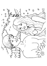 Small Picture Adam and eve coloring pages eating the apple ColoringStar