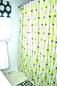 curved double shower rods tension curtain rod install rings