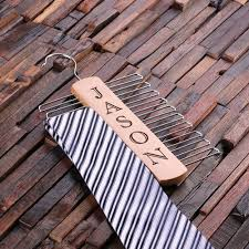 <b>Personalized</b> Tie Hanger - <b>Vertical Name</b> - Cabanyco