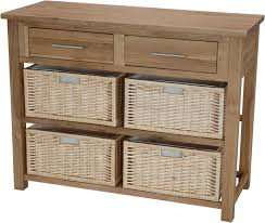 hall console tables with storage. Inspire Oak Basket Hall / Console Table - Default Store View Furniture Value Cheshire Tables With Storage