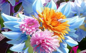 Kwiaty, Rysunek - Zdjęcia