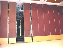 movable walls sliding folding