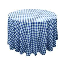 ya ya perfect picnic inspired checd 90 round polyester tablecloths