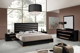 black n white furniture. Nova Domus Romeo Italian Modern Black Rosegold Bedroom Set See White Furniture N