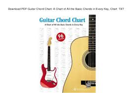 Download Pdf Guitar Chord Chart A Chart Of All The Basic