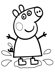 Download and print these peppa pig coloring pages for free. Peppa Pig Coloring Pages Unique Easy Peppa Pig Coloring Pages Free Printable Best Of Peppa Pig Coloring Pages For Girls Coloring Pages Free Printable Coloring Pages For Kids