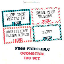 Free Iou Format Iou Template For Free Naomijorge Co