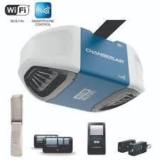 chamberlain garage door opener myqSmartphone Garage Door Openers Bluetooth WiFi Internet Ready