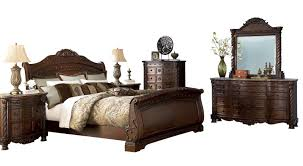 Perfect North Shore Sleigh Bedroom Set Ashley Furniture 2pc With Queen Bed  ...