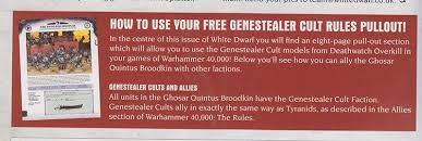 Rules Conundrum The Genestealer Ally Question Spikey Bits