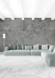 Weiße Schlafzimmer Oder Wohnzimmer Minimalistischen Interieur Mit