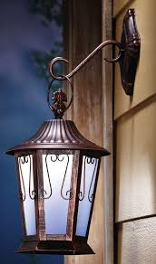 hanging porch lights. Hanging Porch Light Solar LED Lighted Wall Mount Antique Lantern 17\ Lights E
