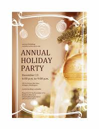 Birthday Invite Templates Free To Download Beauteous Holiday Invitation Templates Free Word Bire44andwap