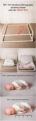 diy newborn photography stand for