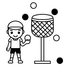 運動会の玉入れのイラスト 無料イラスト素材素材ラボ