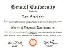 mba diploma bristol mba diploma