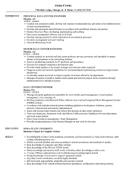 data center engineer resumes data center engineer resume samples velvet jobs