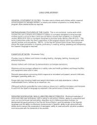 Cv For Care Assistant Cv For Child Care Worker 13 Impressive Example Resume Assistant