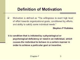 chapter motivation definition of motivationiuml129plusmn
