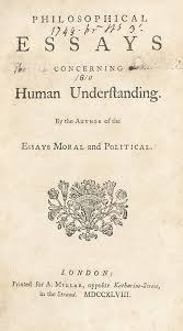 Philosophical Essays Concerning Human Understanding By The Author Of The Essays Moral And Political