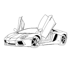 Leuk Voor Kids Kleurplaat Mas Kleurplaten Ferrari En Lamborghini