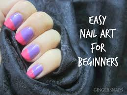 diy easy nail art for beginners using scotch tape