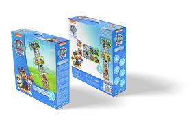 Tappeto Morbido Minnie : Patrol tappeto gioco puzzle tessere