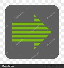 Arrow Of Light Stripe Colors Stripe Arrow Right Rounded Square Button Stock Vector