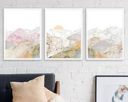 10 save mountain 3 piece wall art large framed wall art set of 3 mountain decor large office wall art nature decor marble print on 3 piece wall art with 3 piece wall art etsy