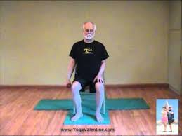 Chair Yoga with Edwin Valentine - YouTube