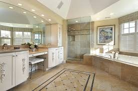 recessed lighting over shower. beautiful corner shower curtain rod in bathroom traditional with over sink lights next to recessed for lighting e
