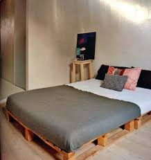 stylish low cost solution build bed frames themselves diy bed frame from euro pallets