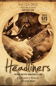 Free Music Poster Templates 11 Psd Band Flyer Templates Psd Ai Publisher Apple